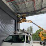 bird-netting-installation