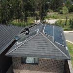 drone view of bird control job